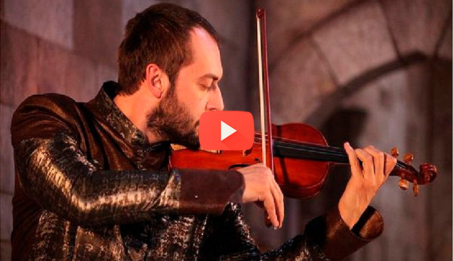 Мелодия Ибрагима-Паши трогает до глубины души. Великолепная игра на скрипке!