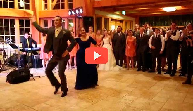 Жених пригласил свою мать станцевать с ним танец, но такого поворота никто не ожидал…