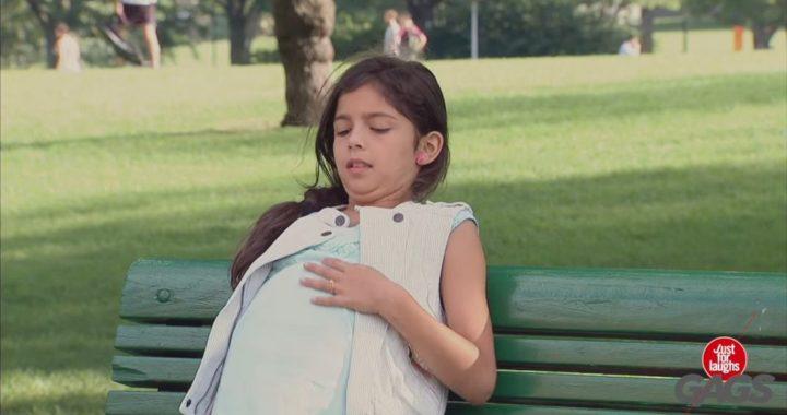 Люди были шокированы, увидев беременную девочку 10-12 лет. Но когда пришёл отец ребёнка, у них глаза на лоб полезли!