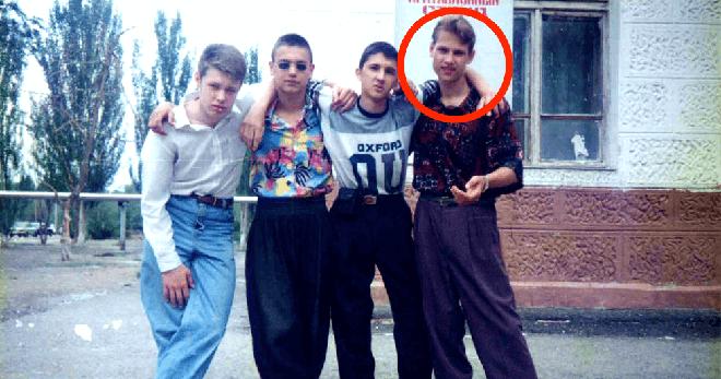 Он решил выложить снимки своей молодости в 90-х. Снимки просто порвали интернет…