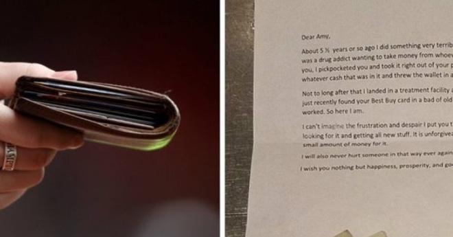 Наркоман украл кошелек у официантки. Через пять лет ей приходит письмо от него…