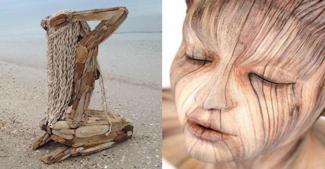 Подборка невероятно красивых деревянных скульптур, от которых невозможно оторвать глаза…