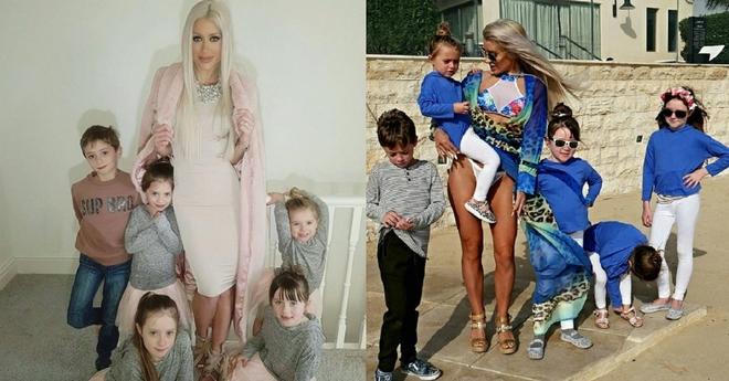 Эту молодую мамочку пятерых детей критиковали за то, что у неё слишком идеальное тело после родов…