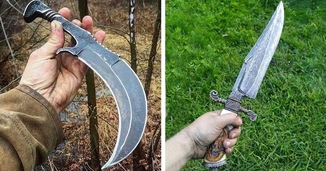 Подборка самых крутых и красивых ножей, которыми люди любят похвастаться в интернете…